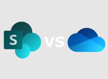 sharepoint online vs onedrive for business