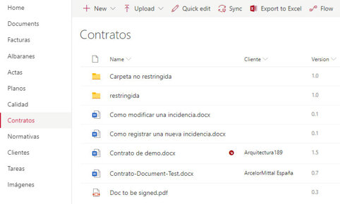 document library in SharePoint Online